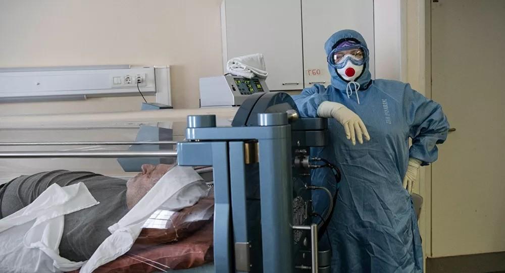 Rusya'da 12 bin 742 yeni koronavirüs vakası