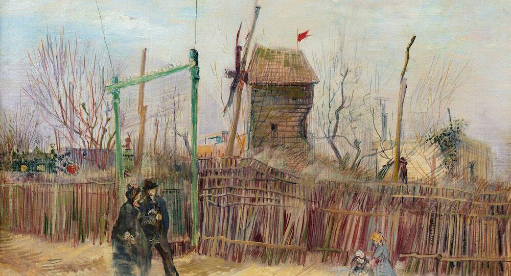 Van Gogh'un sergilenmemiş eseri Montmartre açık artırmada