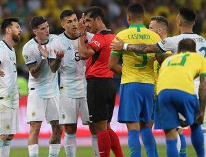 2022 FIFA Dünya Kupası Güney Amerika Elemeleri'nde maçlar ertelendi