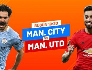 Manchester City – Manchester United Tek Maç ve Canlı Bahis seçenekleriyle Misli.com'da