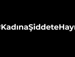 Spor camiasından 'Kadına Şiddete Hayır' mesajı