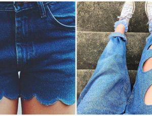 Giymediğiniz Kot Pantolonları Değerlendirmenin En İyi Yolları