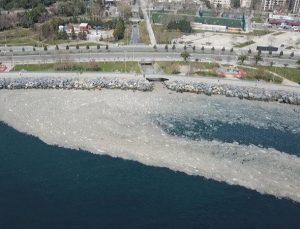 Marmara'nın derinliklerinde 'deniz salyası' görüldü