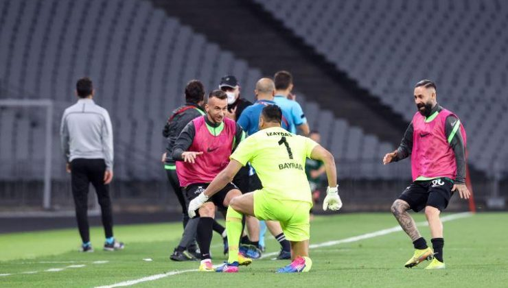 Kocaelispor, kalecisi Bayram'ın gol yemesini istedi