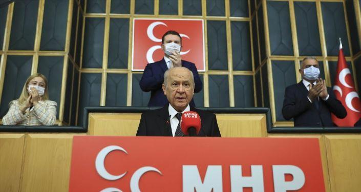 Bahçeli'den Ahmet Şık'a: Türkiye Cumhuriyeti katil olsaydı bugün bulunduğun yer TBMM değil, mezarlık olurdu