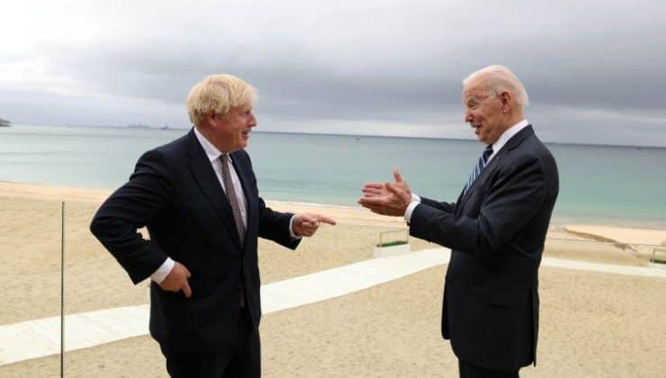 Biden ve Johnson'dan G7 öncesi yüz yüze görüşme