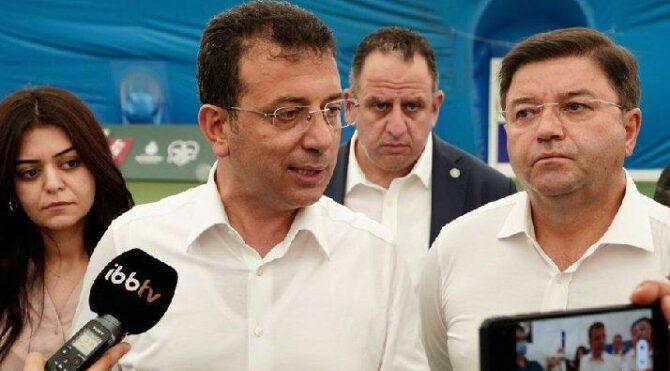 İmamoğlu'ndan Erdoğan'a: Bir hayranlık duygusu oluştuğunu hissediyorum