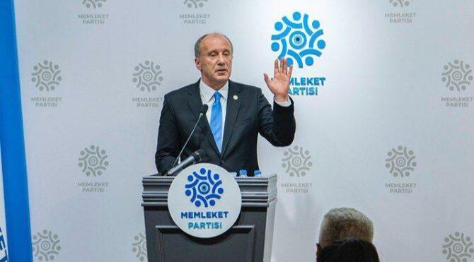İnce'den Erdoğan'a 'açlık' yanıtı
