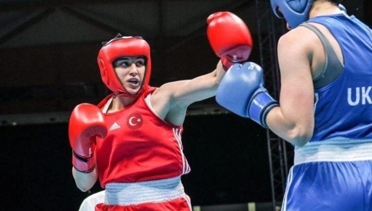Milli boksör Busenaz Sürmeneli'den altın madalya