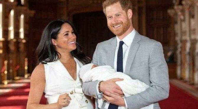 Prens Harry ve eşi Meghan Markle, yeni doğan kızlarına 'Diana' adını verdi