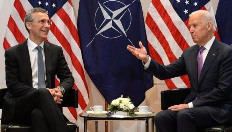 Stoltenberg ve Biden NATO Zirvesi'nin gündemlerini görüştü